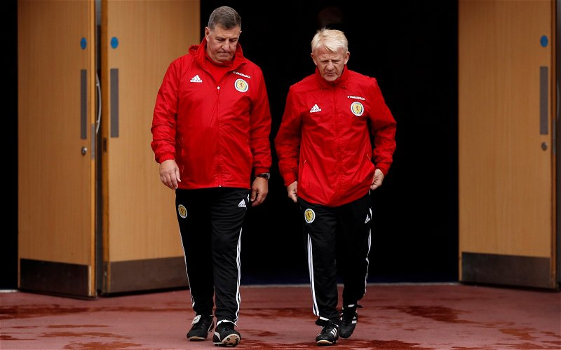 Image for Gordon Strachan has contentious say on Scott Brown issue