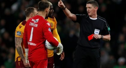 SFA announce referee for Celtic v Aberdeen