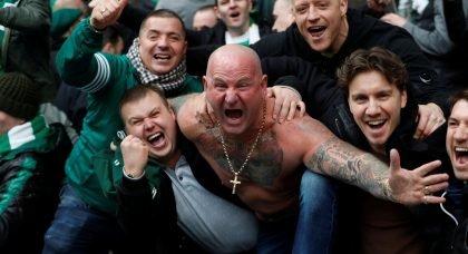 'Not a bad evening' Joy for Celtic fans as title triumph gets a little closer