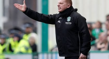 Hibs salute Lennon after mutual consent deal