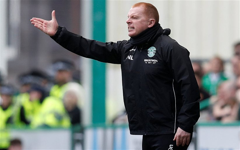 Image for Hibs salute Lennon after mutual consent deal