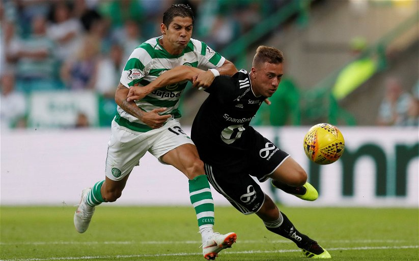 Image for Celtic defender says good-bye to team-mates