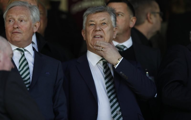 Video: Watch Peter Lawwell and Ian Bankier join Rod Stewart singing Grace
