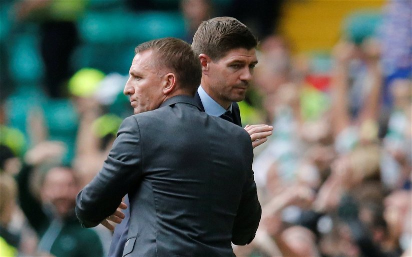 Image for Ibrox legend warns Gerrard of consequences of losing derby to Celtic