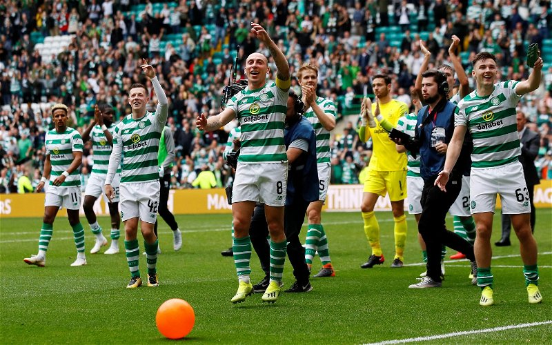 Image for Celtic TV Gerry wades into Celebrationgate with #onlyinScotland tweet