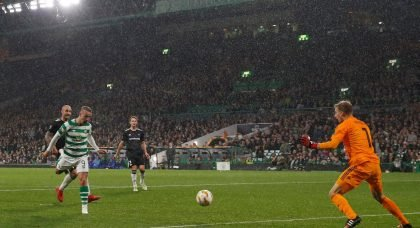 WOW- Watch Celtic TV's unique angle of Griffiths goal
