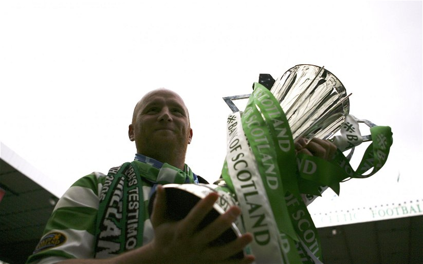 Image for Celtic hero posts poignant picture of his #10yearchallenge