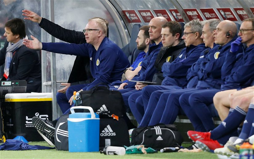 Image for Scotland squad deliver the final insult to McLeish