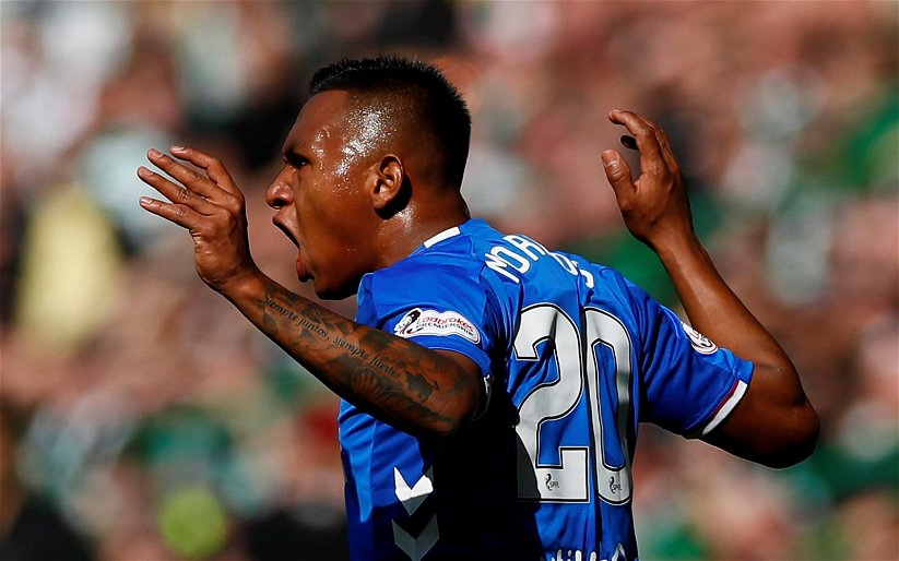 Image for Morelos article in The Sun sends fuming Ibrox fans into a fresh rage