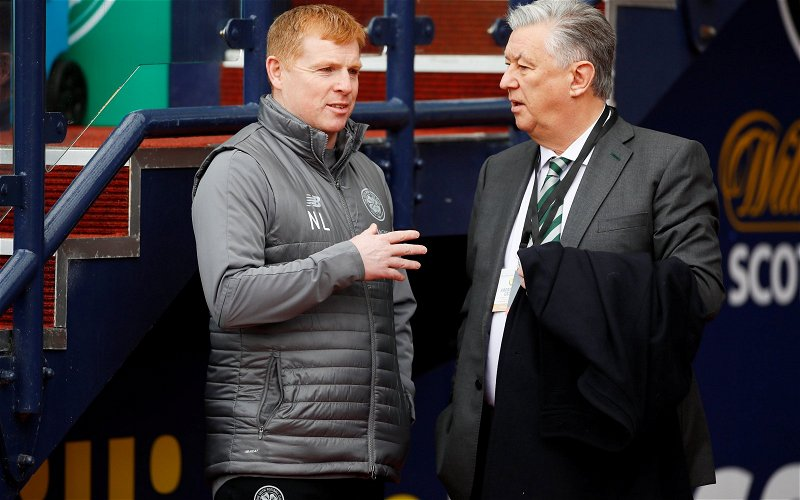Image for Lennon sends January transfer message to Lawwell