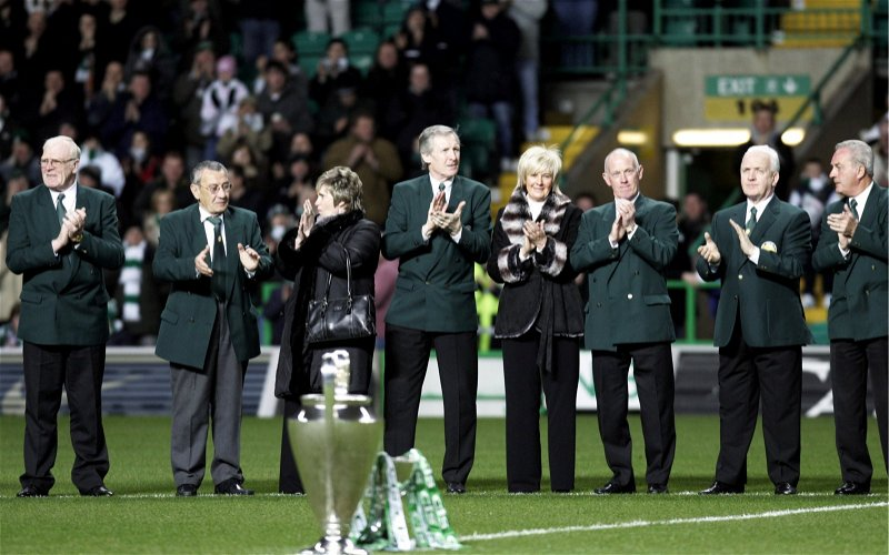 Image for Incredible picture captures the greatest names in Celtic's history