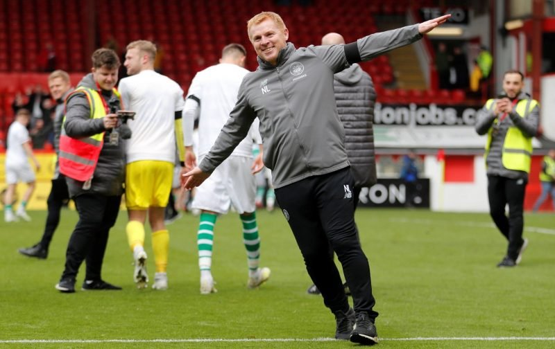 Sutton calls for Ibrox guard of honour for the champions!