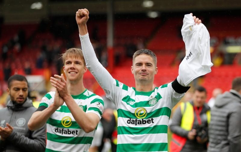 'Farewell legend' 'Nearly greeting watching that video' Celtic fans react to Lustig news