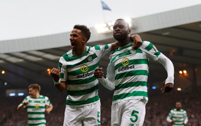 Awesome Edouard double captured by Celtic TV's Unique angle