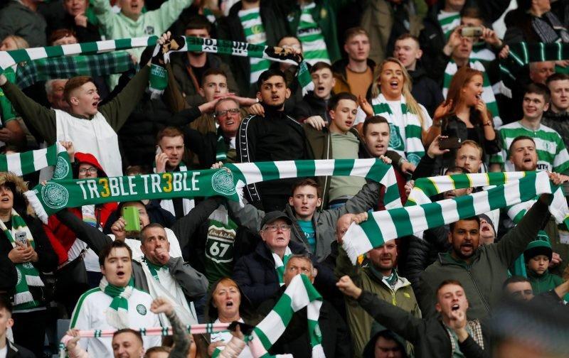 Famous Glasgow landmark has makeover to celebrate Celtic's Treble Treble