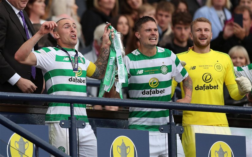 Image for 'Far too emotional' 'miss you soooooooooo much' 'I'm gona end up greeting' Celtic fans react to tear-jerker