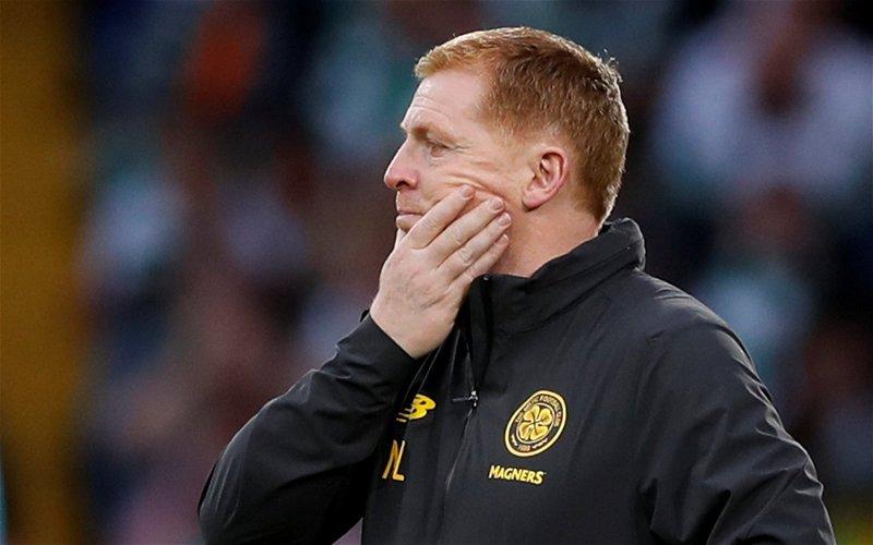 Image for 'I'm still not convinced' Neil Lennon on bizarre VAR decision that denied Edouard a goal