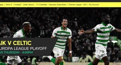 Telly deal announced for AIK v Celtic