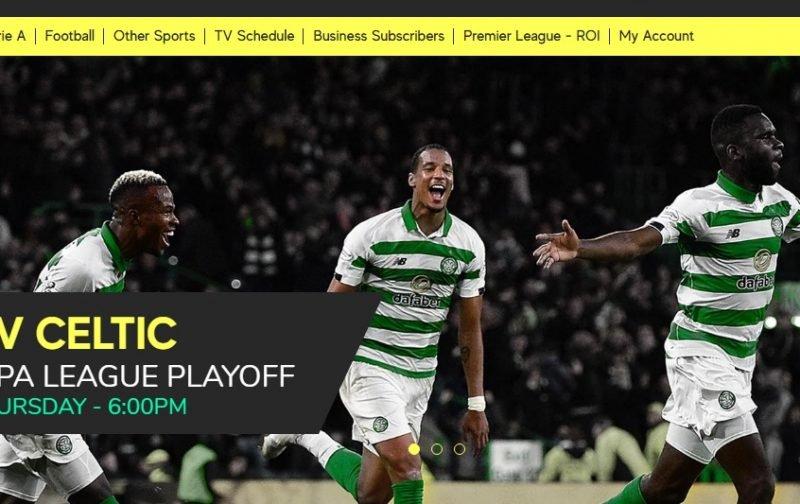 celtic aik tv