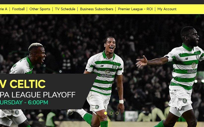 Image for Telly deal announced for AIK v Celtic