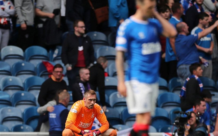 Image for Deluded Ibrox defender claims that Celtic's derby win changes nothing!
