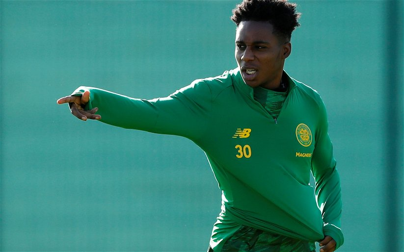 Image for Celtic teenager has sky-high ambitions
