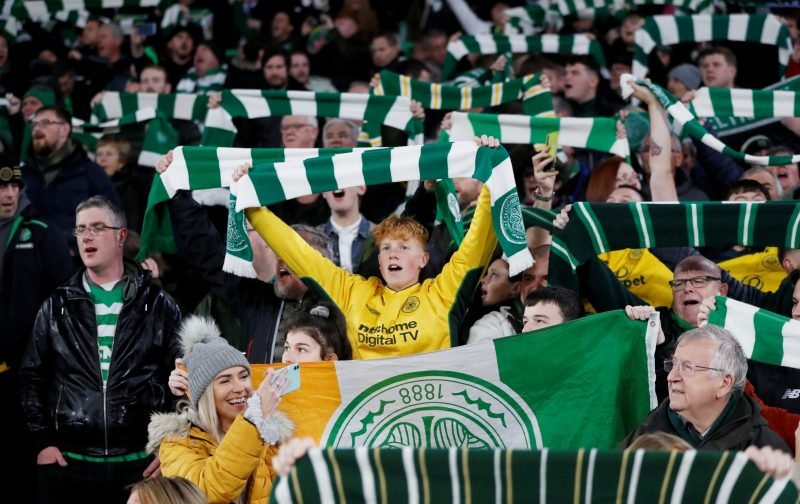 Celtic pip Manchester United as the most watched team in Europe