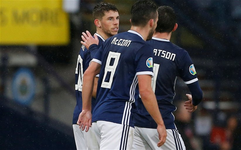 Image for Christie gives that look as McGinn claims his goal