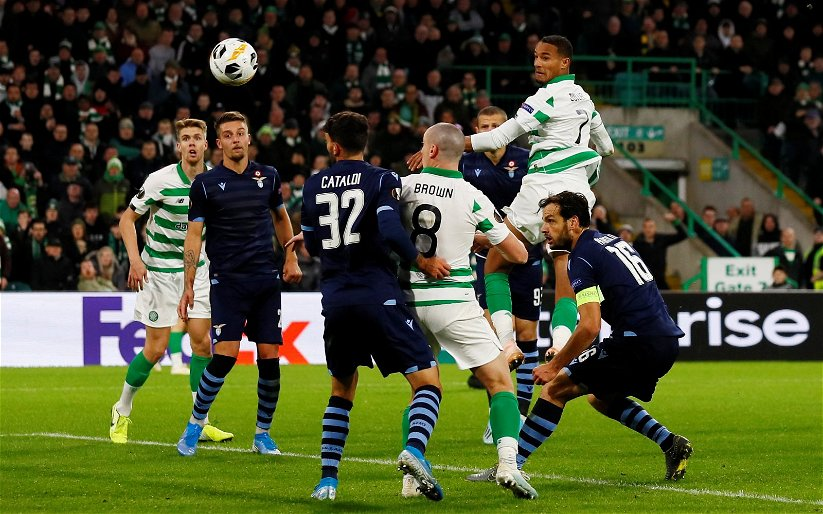 Image for Brilliant fan video relives Celtic Park's most dramatic goal of the season