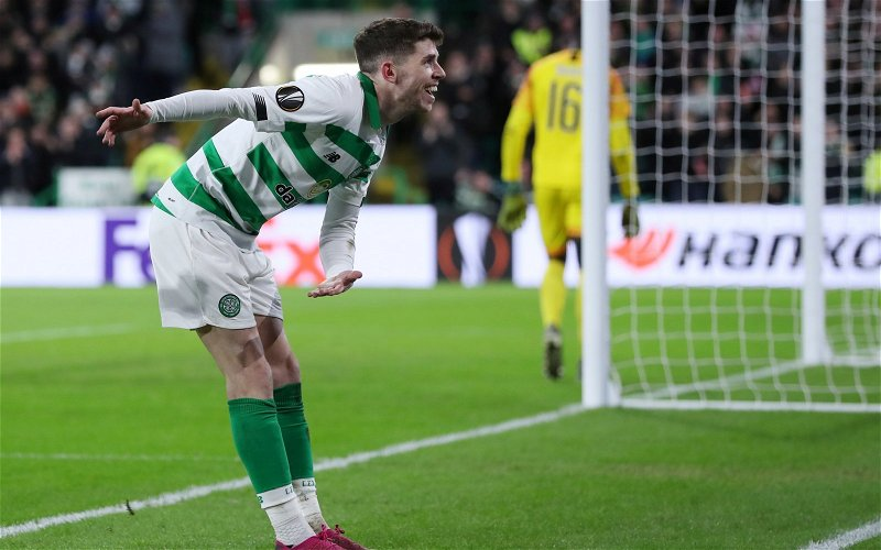 Image for Charlie Nicholas has a novel solution to Ryan Christie's contract issue