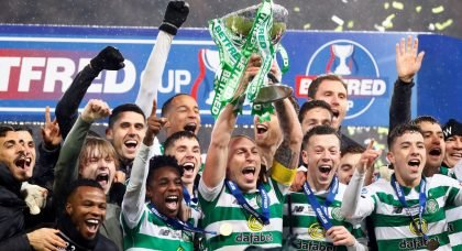 Behind The Scenes in the Celtic dressing room as stars sing Frimpong's On Fire!