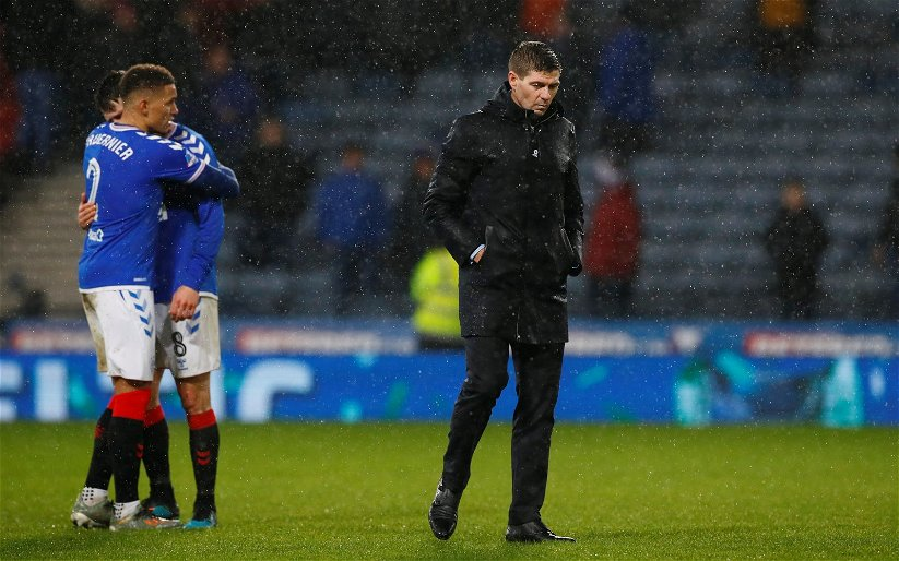 Image for Big Derek Johnstone blames Ibrox players as things go 'horribly horribly wrong'