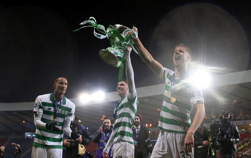 Scenes! Watch how Neil Lennon kicked off epic dressing room celebrations!