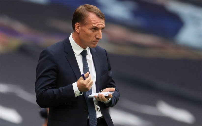 Image for 'Woeful, absolutely tonked' 'Worried for next season' Leicester fans see straight through Rodgers after latest hammering