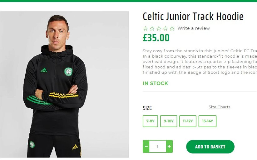 Image for Celtic release Adidas training wear with top price of £65