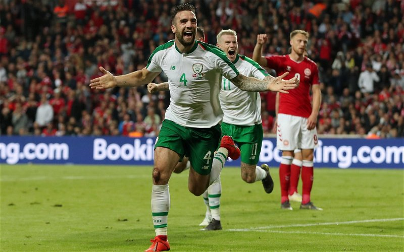 Image for New Shane Duffy Celtic singsong video emerges as Lennon's attention turns to defence