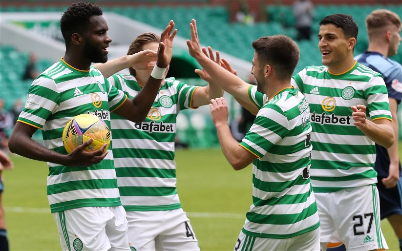 Image for Socially distant Celts set the midnight tills ringing to get their Adidas kit