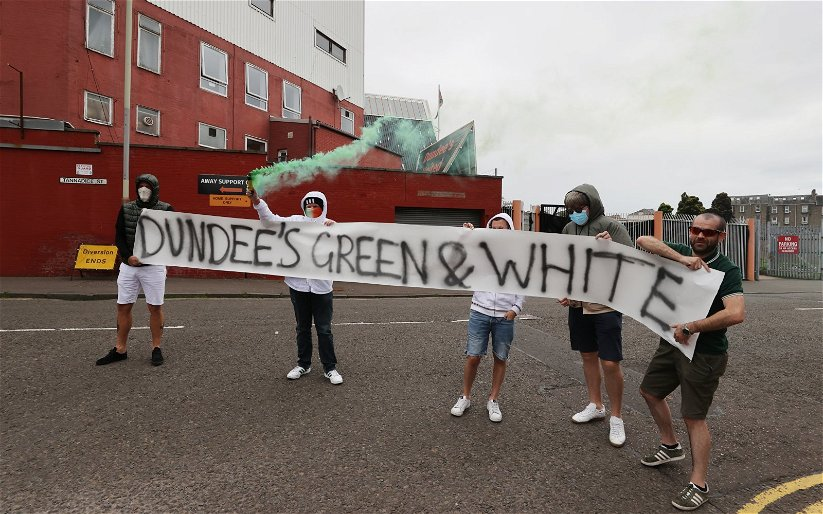 Image for Celtic fans give Neil Lennon's side a special Tannadice welcome