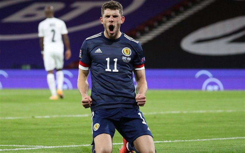 Image for Despite brutality charge Ryan Christie rescues SFA