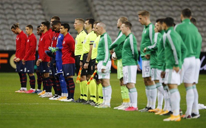 Image for The best I've seen him- Lennon's salutes Celtic's Lille hero