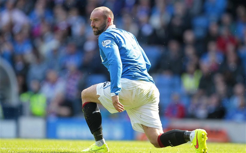 Image for There has been a late goal at Ibrox! Kris Boyd video classic