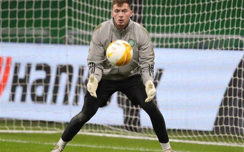 Image for Celtic goalkeeper update