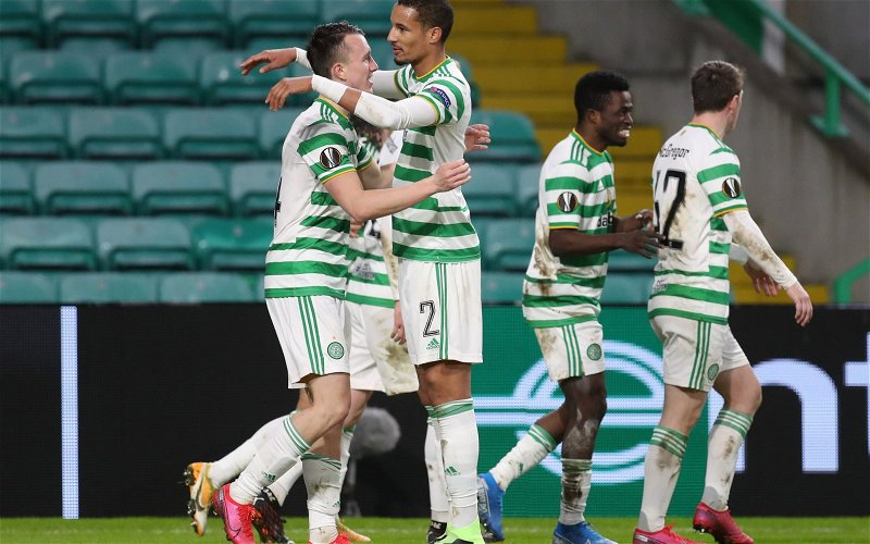 Image for Celtic fans flock to deeply ironic tweet