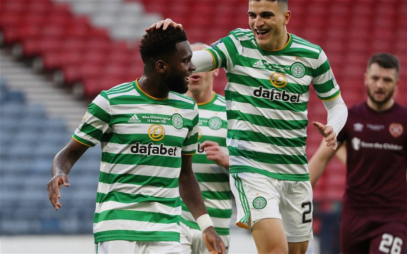 Image for Edouard delivers the points as Celtic TV viewers are blanked out