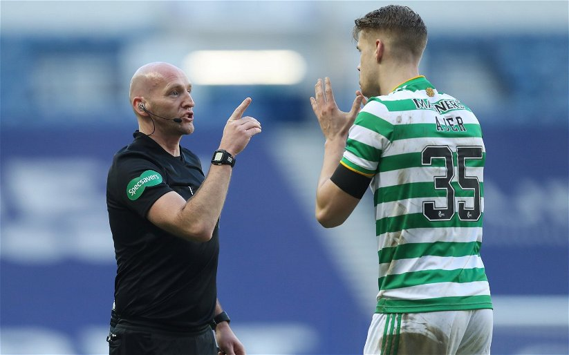 Image for 25%! SFA hand Bobby Madden yet another Celtic match