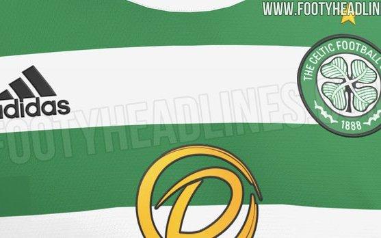 Image for Footy Headlines reveals Celtic home kit for 21/22 season