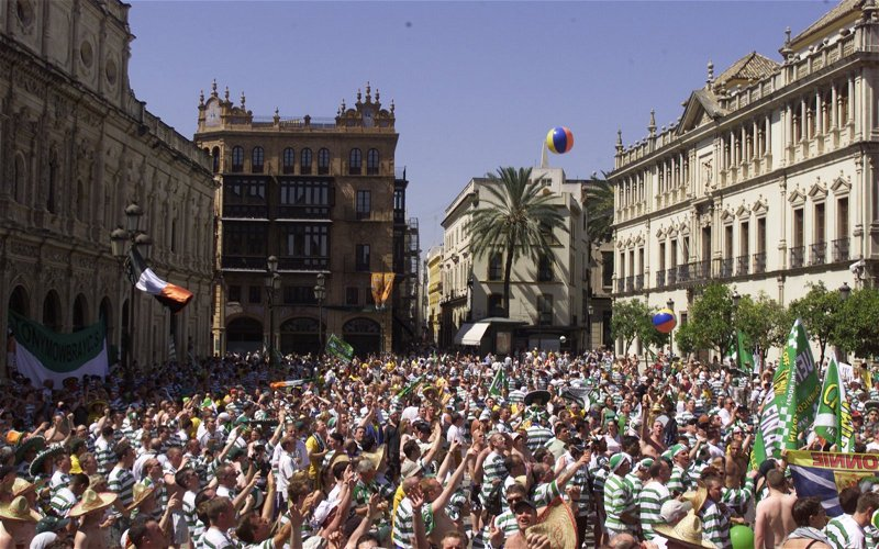 Image for 'Oh, stop this' 'Announce a manager' 'You lot let us down big time' Seville message doesn't deflect Celtic fans from the main issue