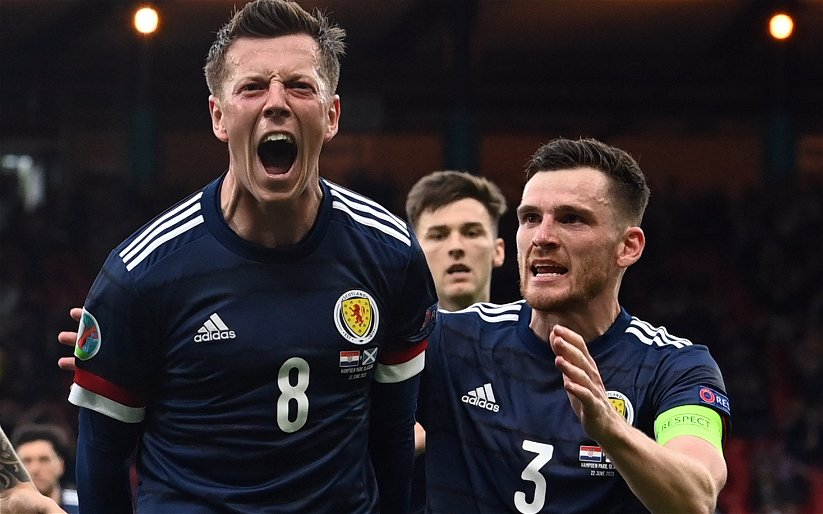 Image for Has Scotland duty left Callum McGregor crocked?