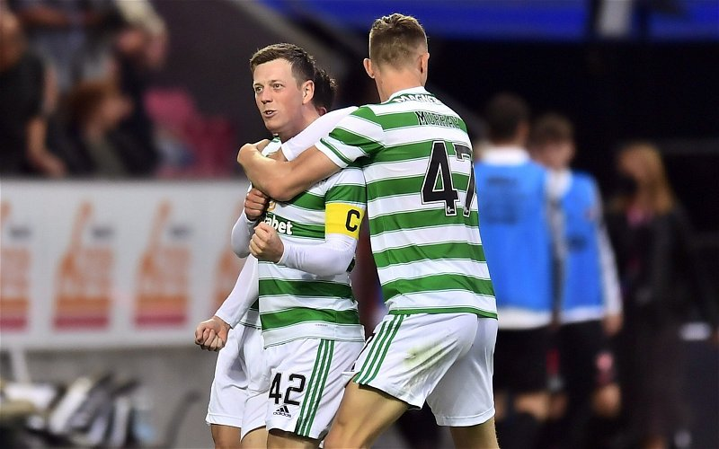 Image for 'English arrogance at its best' 'Do one' 'Get a grip' Celtic fans let rip over £7m McGregor bid!