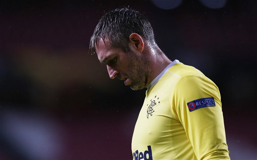 Image for Flapper! Watch Allan McGregor's howler that gave Hearts a draw at Ibrox